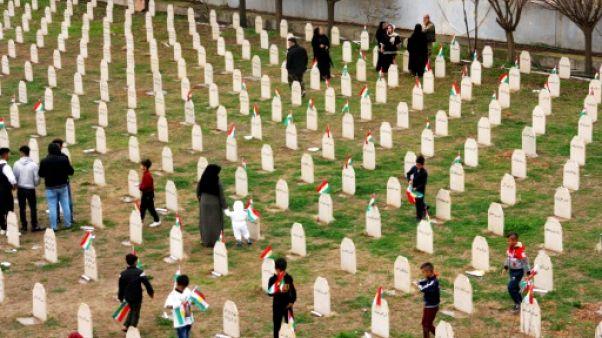 Trente ans après, les Kurdes rendent hommage aux 5.000 des leurs gazés à Halabja