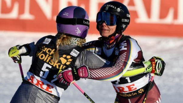 Ski: la Suède bat la France en finale de l'épreuve par équipes