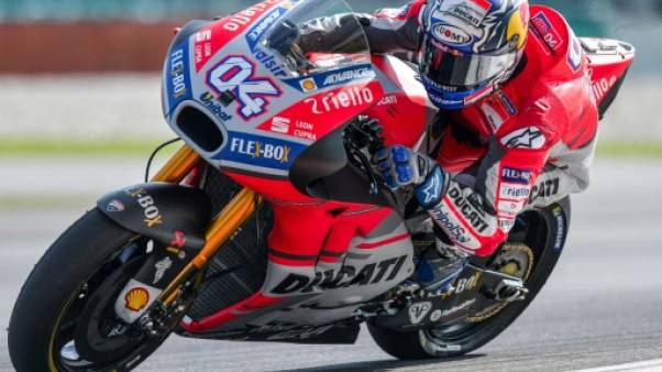 Moto: Dovizioso (Ducati) prend les devants après 2 séances d'essais du GP du Qatar