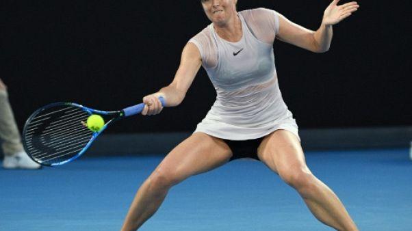Tennis: Sharapova, touchée à l'avant-bras, forfait pour Miami