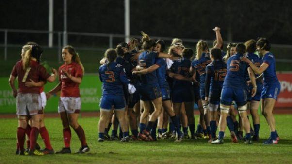 Tournoi: le XV de France réussit le Grand Chelem féminin des six nations