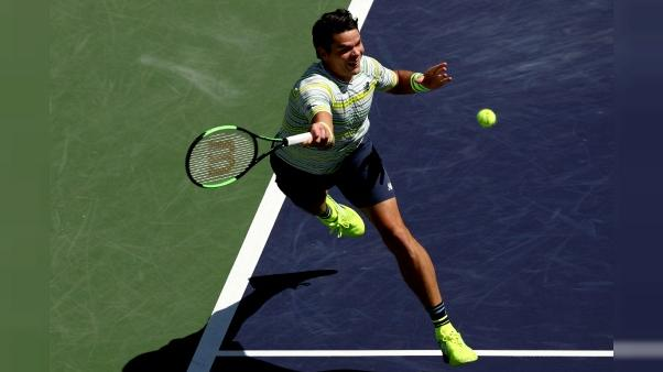 Tennis: Raonic-Del Potro, duel de revenants à Indian Wells