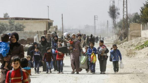 Syrie: 30 civils tués dans des raids sur le fief rebelle de la Ghouta, selon l'OSDH