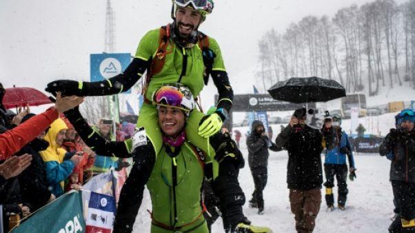 Ski alpinisme: victoire de Boscacci/Antonioli à la Pierra Menta, abandon de Jornet
