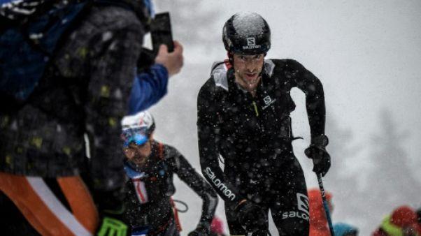 Ski alpinisme: sale temps pour Kilian Jornet, Boscacci sacré à la Pierra Menta