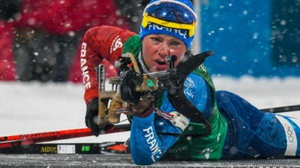 Biathlon: la France remporte le relais dames d'Oslo