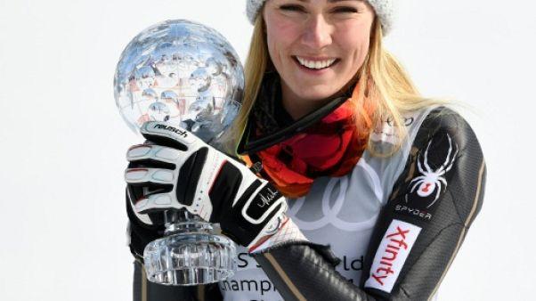 Ski: Shiffrin reste solide et s'impose en slalom lors des finales