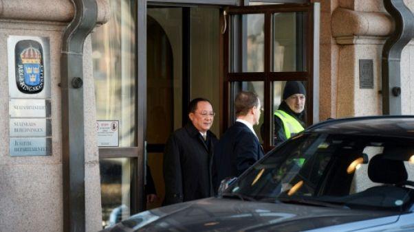 Corée du Nord: fin des consultations en Suède, sans annonce concrète
