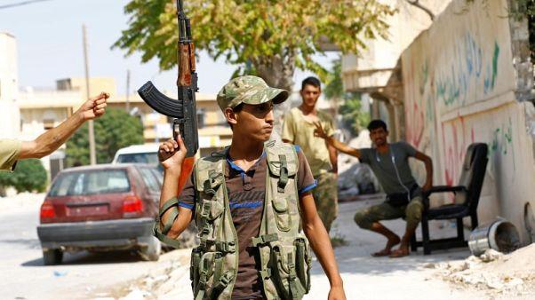 قوات تركية وقوات معارضة سورية تسيطر على عفرين السورية من الأكراد