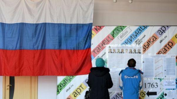 Présidentielle en Russie: paroles d'électeurs
