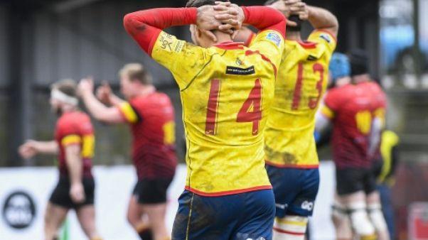 Rugby: l'Espagne rate le coche en Belgique, la Roumanie qualifiée