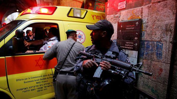 طعن إسرائيلي في القدس القديمة والشرطة تقتل المهاجم بالرصاص