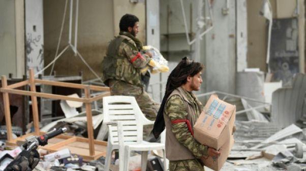 Syrie: scènes de pillage à Afrine après l'entrée des forces pro-turques