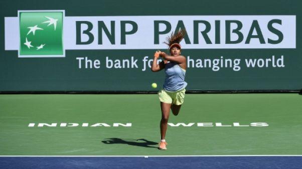 Tennis: Osaka était pressée à Indian Wells