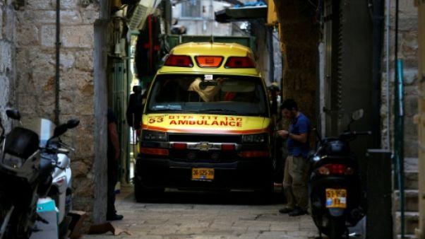 Jérusalem: un Palestinien poignarde mortellement un Israélien avant d'être abattu