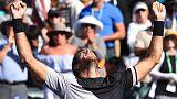 Resurgent Del Potro returns to the top with Indian Wells triumph