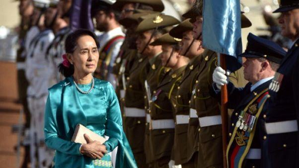 """Australie: Suu Kyi """"ne se sent pas bien"""" et annule une apparition en public"""