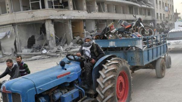 Syrie: des responsables kurdes et de l'opposition condamnent les pillages à Afrine