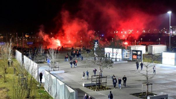 """""""Comportement raciste"""" lors d'OL-CSKA: Lyon en sursis"""