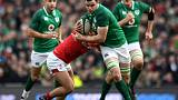 Dominant Ireland lay down early World Cup marker