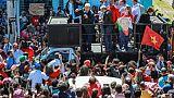Brésil: début sous tension de la tournée électorale de Lula
