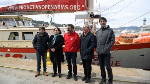 Migrants: la justice italienne séquestre le navire d'une ONG espagnole