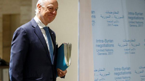 دي ميستورا: تقسيم سوريا كارثة وأخشى عودة الدولة الإسلامية