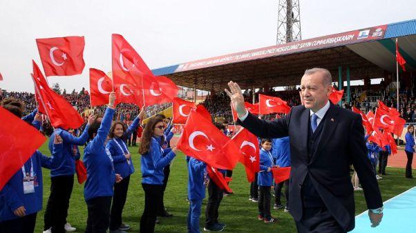 إردوغان يقول إنه سيطلب من الاتحاد الأوروبي بقية الأموال المخصصة للاجئين