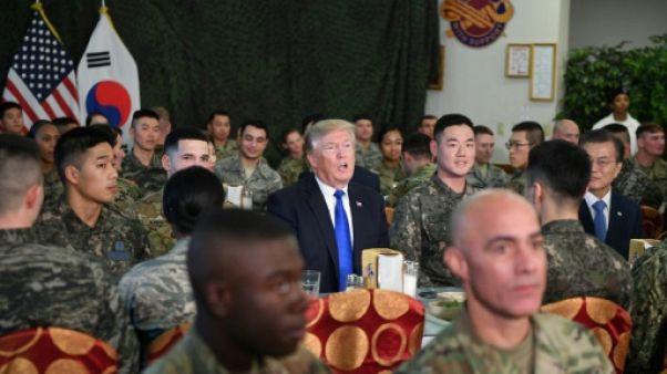 Malgré la détente, Séoul et Washington vont reprendre leurs manoeuvres militaires
