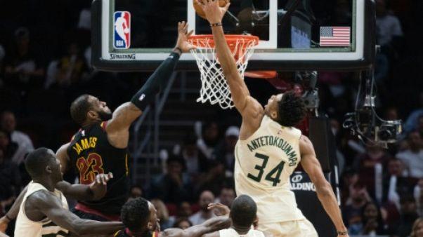 NBA: James à nouveau décisif pour Cleveland, les Spurs respirent un peu mieux