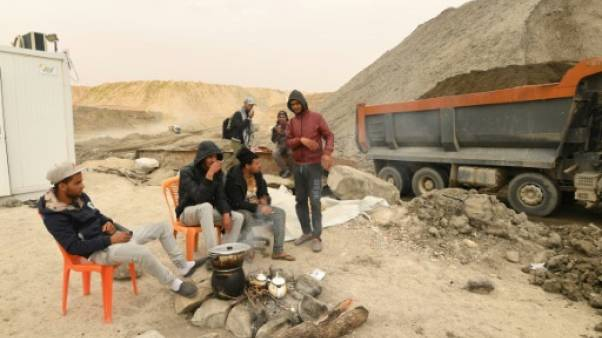 """Pour les jeunes du bassin minier tunisien, c'est la mine ou """"la mort"""""""