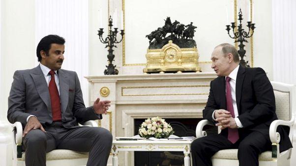 وكالة: بوتين يلتقي بأمير قطر الأسبوع المقبل