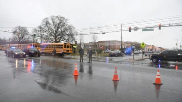 Deux blessés après une fusillade dans un lycée du Maryland, le tireur est mort