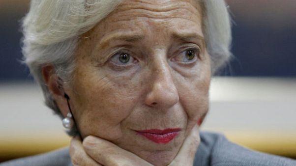 """لاجارد تحث مجموعة العشرين على تفادي """"إجراءات استثنائية"""" في التجارة"""