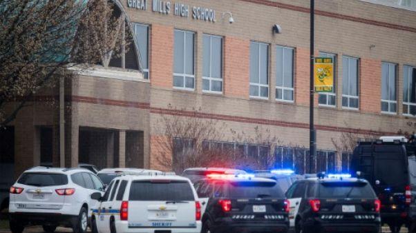 Nouvelle fusillade dans un lycée américain: deux blessés, le tireur tué