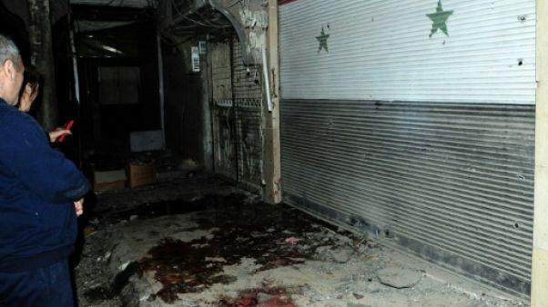 Scènes de douleur à Damas après un tir rebelle meurtrier