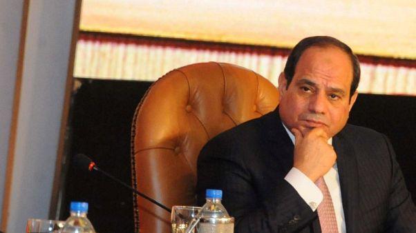 السيسي يقول انه كان يتمنى وجود مجموعة من المرشحين للرئاسة