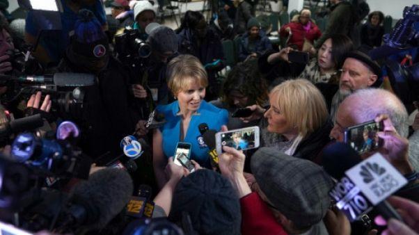 Etats-Unis: premier discours très à gauche pour l'actrice Cynthia Nixon, candidate à New York