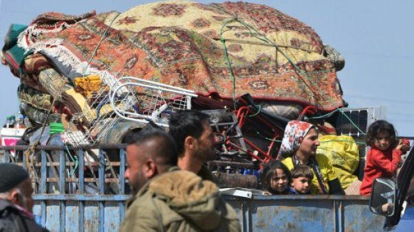 Syrie: pour les déplacés d'Afrine, le nouvel an kurde s'annonce lugubre