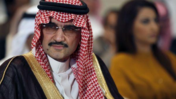 الوليد بن طلال والحكير يجريان محادثات مع بنوك بشأن قروض