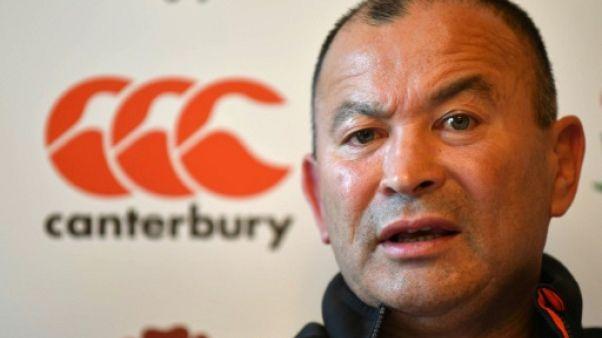 Rugby: le sélectionneur de l'Angleterre Eddie Jones garde la confiance de la RFU