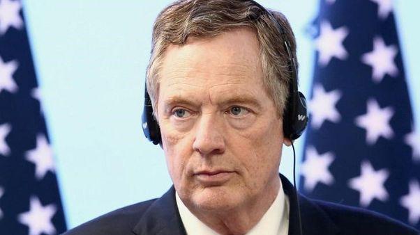 لايتهايزر: أمريكا في محادثات بشأن إعفاءات من الرسوم الجمركية على الصلب والألومنيوم