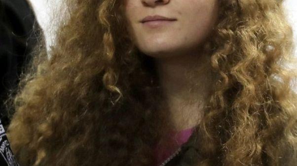 تقرير: الفلسطينية عهد التميمي تقضى حكما بالسجن 8 أشهر بسبب صفع جندي إسرائيلي