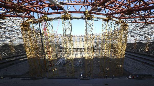الفيفا يحذر من استمرار التأخير في أعمال البناء باستاد سامارا