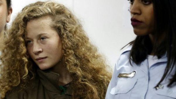 """Accord de """"plaider coupable"""" pour une Palestinienne accusée d'avoir frappé des soldats"""