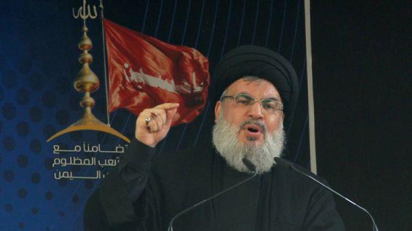 زعيم حزب الله يقول المالية العامة في لبنان تهدد بكارثة
