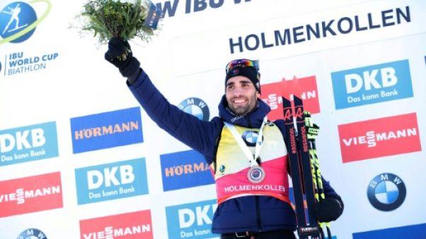 Biathlon: Fourcade, un 7e Globe en ligne de mire