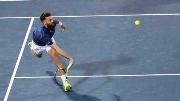 Tennis: Paire réussit son entrée et jouera contre Djokovic au 2e tour