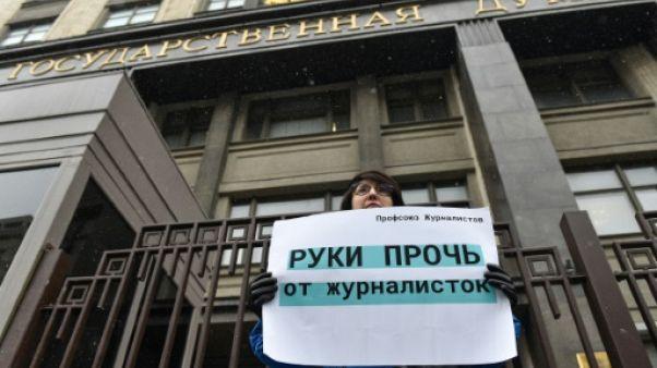 Russie: des médias boycottent le Parlement après un scandale de harcèlement sexuel