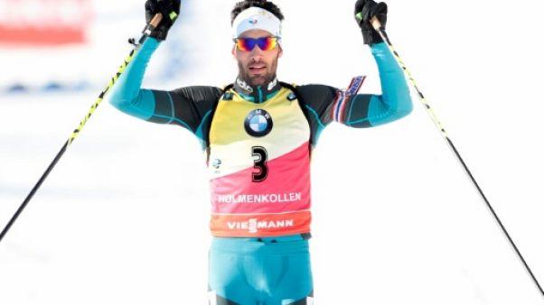 Biathlon: Martin Fourcade remporte une 7e Coupe du monde d'affilée